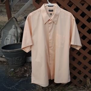 Sherbert Orange ARROW Short Sleeve Shirt